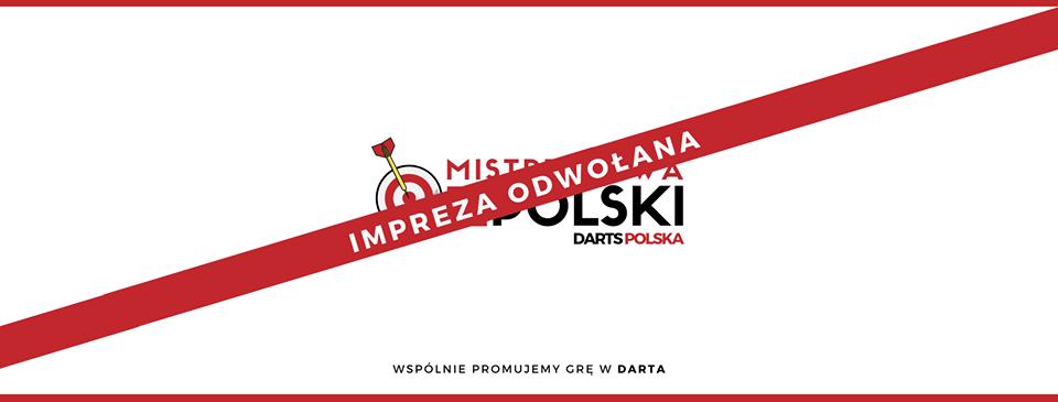 mistrzostwa polski odwolanie imprezy