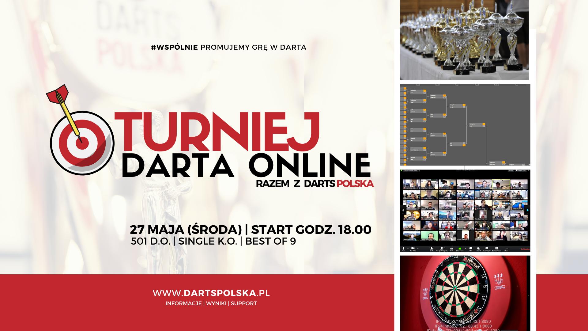 turniej darta online zapowiedz zawodów na 27 maja
