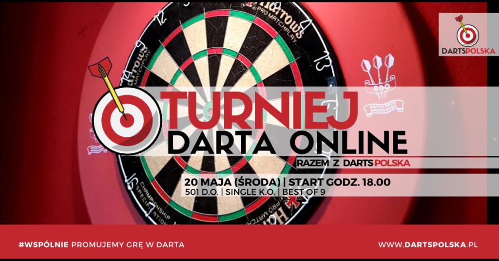 turniej darta online środa 20 maja