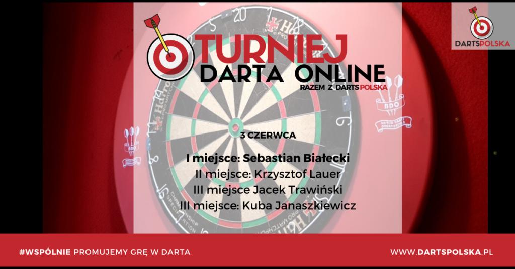 turniej darta online 3 czerwca wyniki